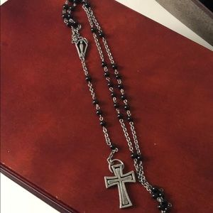 🥳 JUST ADDED!!: Men's rosary style necklace